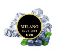 Табак для кальяна Milano Blue Mist M28 (Блу Мист) 100 грамм