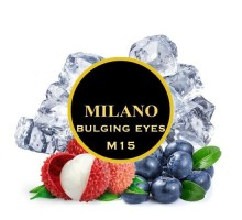 Табак для кальяна Milano Bulging Eyes M15 (Бёлджинг Аис) 100 грамм