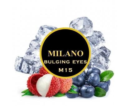 Табак для кальяна Milano Bulging Eyes M15 (Бёлджинг Аис) 100 грамм
