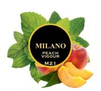 Табак для кальяна Milano Peach Vigour / Персик Мята M21 100 грамм