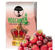 Табак для кальяна Volcano King of The Night / Черешня Клубника 50 грамм