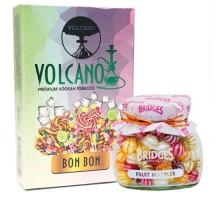 Табак для кальяна Volcano Bon Bon / Леденцы 50 грамм