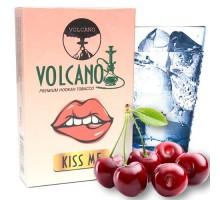 Табак для кальяна Volcano Kiss me / Микс Черешни, Сладкой Жвачки и Ледяной Ментол 50 грамм