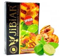 Табак для кальяна Jibiar Baked Peach Spiced/ Жаренный персик Гриль 50 грамм
