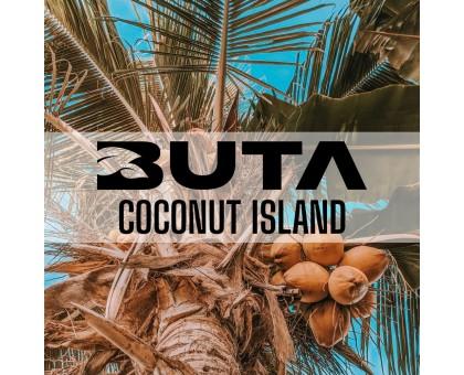 Табак для кальяна Buta Gold Line Coconut Island / Кокосовый Остров 50 грамм