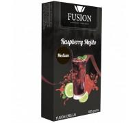 Табак для кальяна Fusion Medium Raspberry Mojito / Малиновый мохито 100 грамм