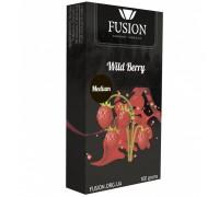 Табак для кальяна Fusion Medium Wild Berry / Земляника 100 грамм