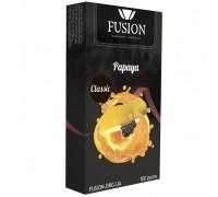 Табак для кальяна Fusion Classic Papaya / Папайя 100 грамм