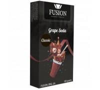 Табак для кальяна Fusion Classic Grape Soda / Виноградная содовая 100 грамм