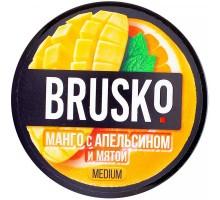 Табак для кальяна Brusko Манго с Апельсином и Мятой 50 грамм
