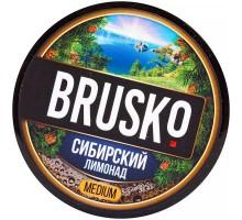 Табак для кальяна Brusko Сибирский Лимонад 50 грамм