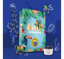 Безникотиновая Смесь Aloha Blueberry (Алоха Черника) 100 грамм