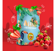 Безникотиновая Смесь Aloha Strawberry (Алоха Клубника) 100 грамм