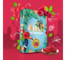 Безникотиновая Смесь Aloha Raspberry (Алоха Малина) 100 грамм