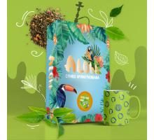 Безникотиновая Смесь Aloha Green Tea (Алоха Зеленый Чай) 100 грамм
