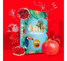 Безникотиновая Смесь Aloha Pomegranate (Алоха Гранат) 100 грамм