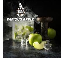 Табак для кальяна Black Burn Famous Apple (Зеленое Яблоко) 100 грамм