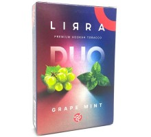 Табак для кальяна Lirra Grape Mint / Виноград Мята 50 грамм
