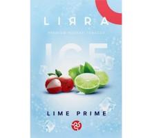 Табак для кальяна Lirra Ice Lime Prime/ Лайм Прайм 50 грамм