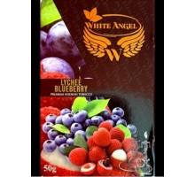 Табак для кальяна White Angel Lychee Blueberry (Белый Ангел Личи Черника) 50 грамм