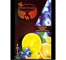 Табак для кальяна White Angel Blueberry Orange (Белый Ангел Черника Апельсин) 50 грамм