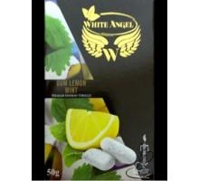 Табак для кальяна White Angel Gum Lemon Mint (Белый Ангел Жвачка Лимон и Мята) 50 грамм