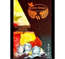 Табак для кальяна White Angel Ice Strawberry Lemonade (Белый Ангел Клубничный Лимонад Лед) 50 грамм