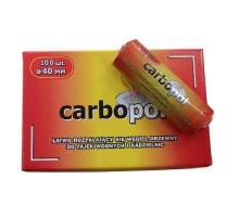 Уголь Carbopol 40 мм (10 шт)