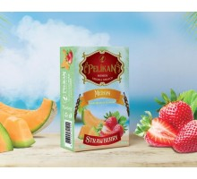 Табак для кальяна Pelikan Banana Strawberry /  Банан Клубника 50 грамм