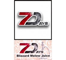 Табак для кальяна 7 Days Blizzard Melow Juice 50 грамм