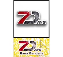 Табак для кальяна 7 Days Banana Bandana 50 грамм