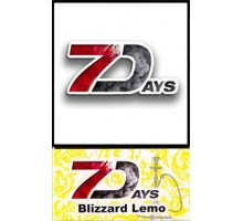 Табак для кальяна 7 Days Blizzard Lemo 50 грамм