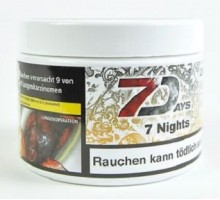 Табак для кальяна 7 Days 7 nights / 7 ночей 200 грамм