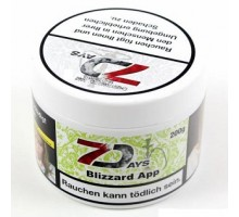 Табак для кальяна 7 Days Blizzard App 200 грамм