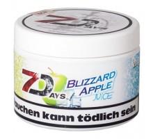 Табак для кальяна 7 Days Blizzard Apple Juice / Охлажденный Яблочный Сок 200 грамм