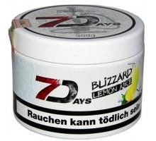 Табак для кальяна 7 Days Blizzard Lemon Juice / Охлажденный Лимонный Сок 200 грамм