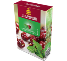 Табак для кальяна Al Fakher Cherry with Mint / Вишня и мята 50 грамм