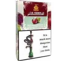 Табак для кальяна Al Fakher Frosty two apple / Морозное двойное яблоко 50 грамм