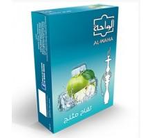 Табак для кальяна Al Waha Apple Iced / Ледяное яблоко 50 грамм