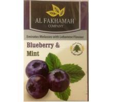 Табак для кальяна Al Fakhamah Blueberry Mint / Черника с мятой 50 грамм