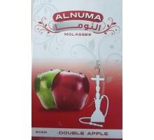 Табак для кальяна Alnuma Double Apple / Двойное Яблоко 50 грамм