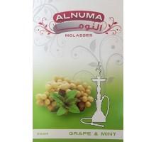 Табак для кальяна Alnuma Grape Mint / Виноград мята 50 грамм