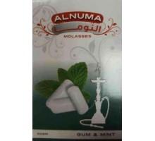 Табак для кальяна Alnuma Gum Mint / Жевательная резинка мята 50 грамм