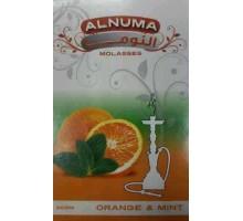 Табак для кальяна Alnuma Orange Mint / Апельсин мята 50 грамм