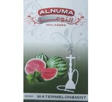 Табак для кальяна Alnuma Watermenlon With Mint / Арбуз мята 50 грамм