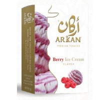 Табак для кальяна Arkan Berry Ice Cream / Ягодное мороженое 50 грамм (срок годности истек)