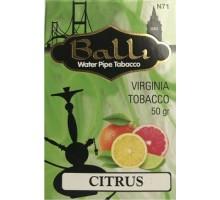 Табак для кальяна BALLI Citrus / Цитрус 50 грамм