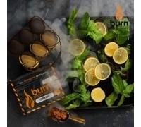Табак для кальяна Burn Lemon Mint / Лимон мята 100 грамм