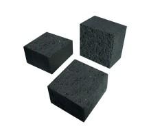 Уголь кокосовый поштучно 25 х 25 х 15 мм