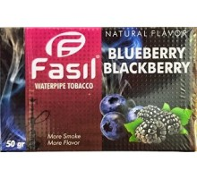 Табак для кальяна Fasil Blueberry Blackberry / Черника ежевика 50 грамм